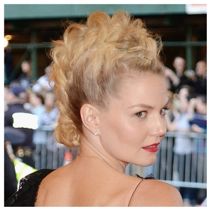 Jennifer Morrison, who wore a custom Donna Karan Atelier, totally kicked ass with her killer faux-hawk.