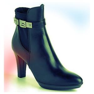 Aquatalia heeled rain boots.