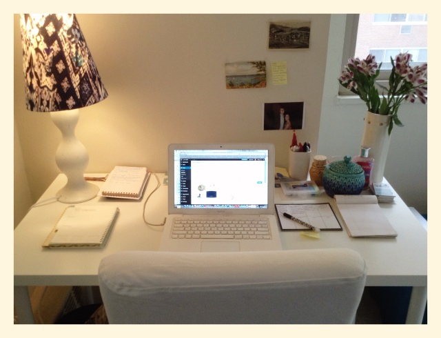 Home sweet home office!
