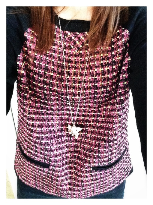 Tweed Sweater