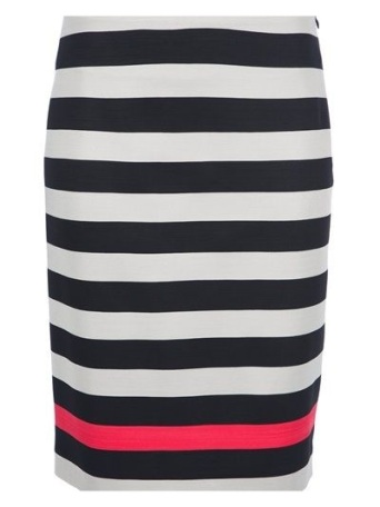 Striped pencil skirt by DianeVon Furstenberg