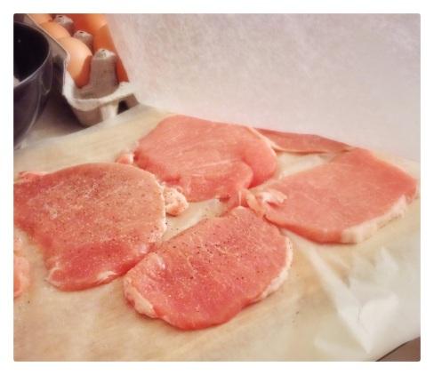 pork, pork cutlets, breaded pork cutlets, pork recipe, recipe, recipes, cooking, pork cutlet recipe, breaded pork cutlet recipe