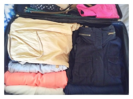 packing, travel, travel advice, travel tips, holiday travel, how to pack, packing advice, packing tips, clothes, style, fashion, coats, sweaters, shirts, blouses, knits, outerwear