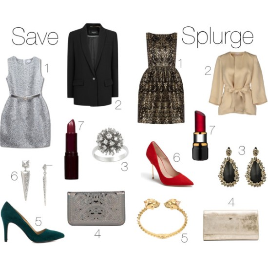 holiday, christmas, holidays, holiday party, christmas party, holiday party look, christmas party look, holiday party outfit, christmas party outfit, holiday party style, christmas party style, fashion, style, clothes, shopping, budget fashion, budget holiday style, cocktail party, cocktail party outfit, cocktail party style, dress, tweed dress, blazer, ring, statement ring, target, mango, clutch, metallic clutch, shoes, heels, pumps, suede pumps, justfab, earrings, rj graziano, lipstick, burgundy lipstick, rimmel london, beauty, makeup, lipstick, jewelry, earrings, ring, belted coat, alice + olivia, alexis bittar, diane von furstenberg, alexander mcqueen, bracelet, kurt geiger, kosta boda