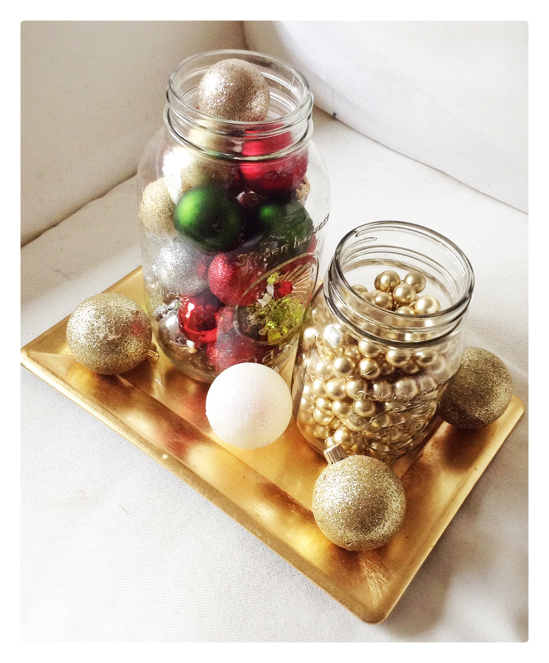 Mason Jar Christmas Decorations: Life In Classics