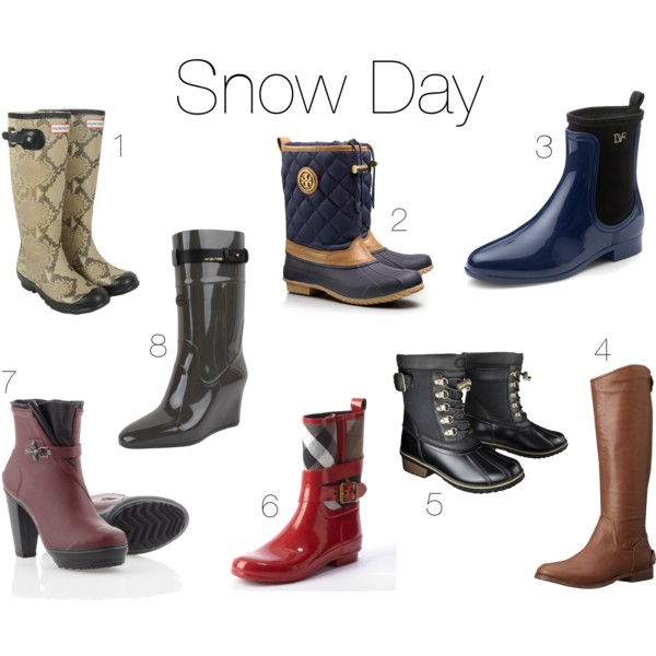 Rain Snow Boots - Cr Boot