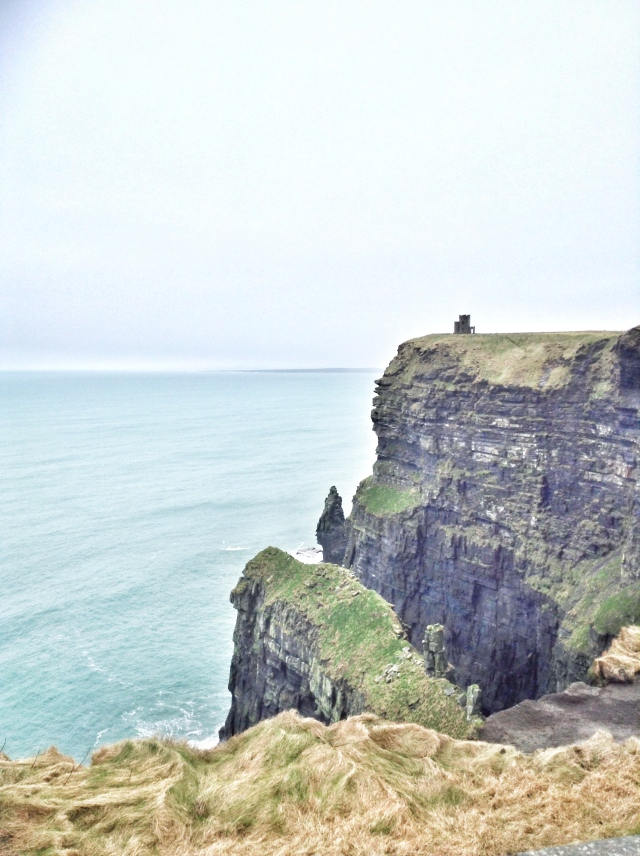 travel, ireland, galway, cliffs of moher, liscannor, sights, sightseeing, ocean, atlantic ocean, mountains, view