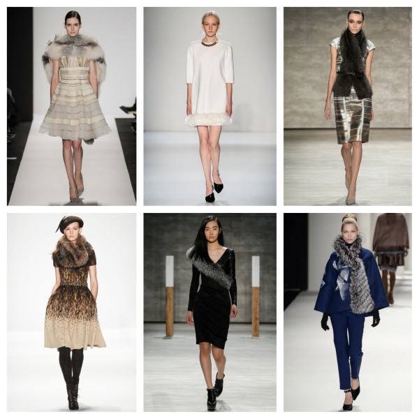 fashion, style, fashion week, new york fashion week, nyfw, fall 14, fall 2014, fall 2014 new york fashion week, mercedes benz fashion week, designers, designer clothing, designer fashion, designer style, fur, faux fur, fur scarf, fur stole, fur coat, fur dress,