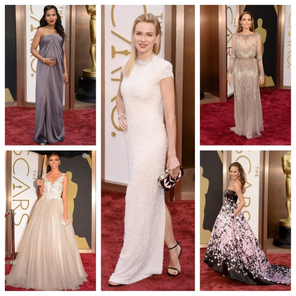 oscars, 2014 oscars, best dressed, 2014 oscars best dressed, academy awards, 2014 academy awards, gowns, designer gowns, designer dresses, red carpet, red carpet fashion, red carpet style, kerry washington, jason wu, angelina jolie, elie saab, chrissy teigen, monique lhuillier, giuliana rancic, paolo sebastian, naomi watts, calvin klein, calvin klein collection, fashion, style