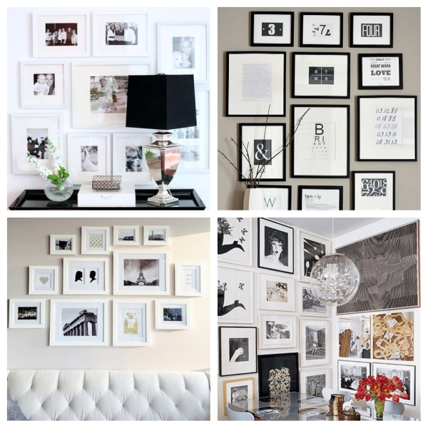 home, decor, decorating, decoration, home decoration, home decor, home decorating, design, interior design, diy, art, painting, graphic art, frames, picture frames, gallery wall, gallery wall inspiration, black and white gallery wall,