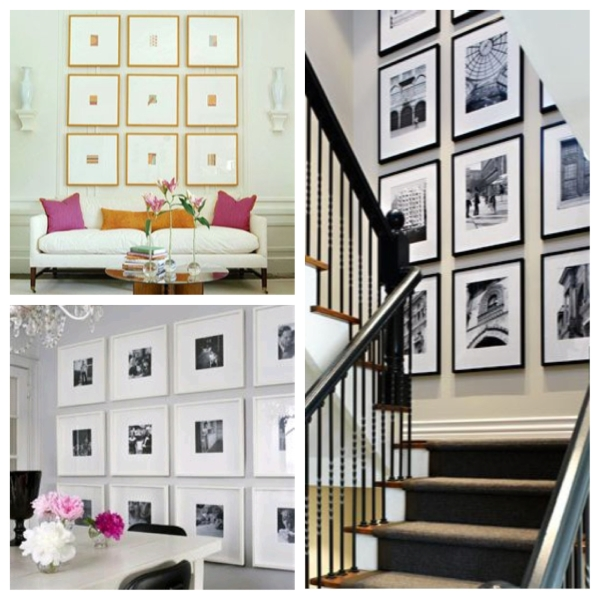 home, home decor, home design, home decorating, decor, decorating, decoration, design, interior design, gallery wall, frames, art, graphic art, picture frames, geometric gallery wall, gallery wall inspiration