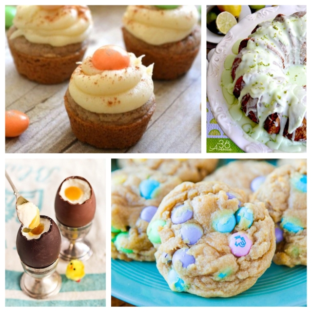 food, dessert, recipe, cooking, baking, dessert recipe, sweets, sweets recipe, easter, easter dessert, easter dessert recipe, easter sweets recipe, easter candy, easter cookies, easter cake, easter chocolates, carrot cake cupcakes, cupcakes, key lime bundt cake, bundt cake, cookies, m&m cookies, chocolate eggs