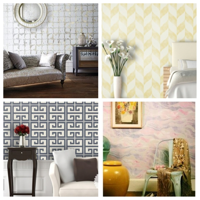 home, home decor, decor, decorating, home decorating ,decoration, design, interior design, interior decoration, wallpaper, removable wallpaper, temporary wallpaper, printed wallpaper, polka dot wallpaper