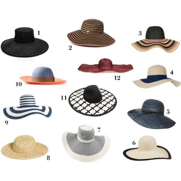 fashion, style, accessories, hats, sun hats, floppy hats, summer, summer style, summer fashion, summer outfits, summer accessories, summer hats, summer sun hats, woven hat, printed hat, woven sun hat, printed sun hat, striped hat, striped sun hat, kate spade, kate spade new york, topshop, calypso st. barth, nordstrom, lanvin, eugenia kim, h&m