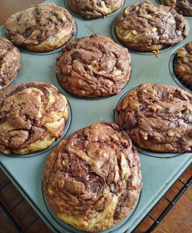 food, cooking, baking, sweets, desserts, dessert recipes, sweet recipes, muffins, banana, banana muffins, muffin recipes, banana muffin recipe, nutella, banana nutella, nutella recipes, banana nutella muffins, banana nutella muffin recipes, breakfast, breakfast recipes