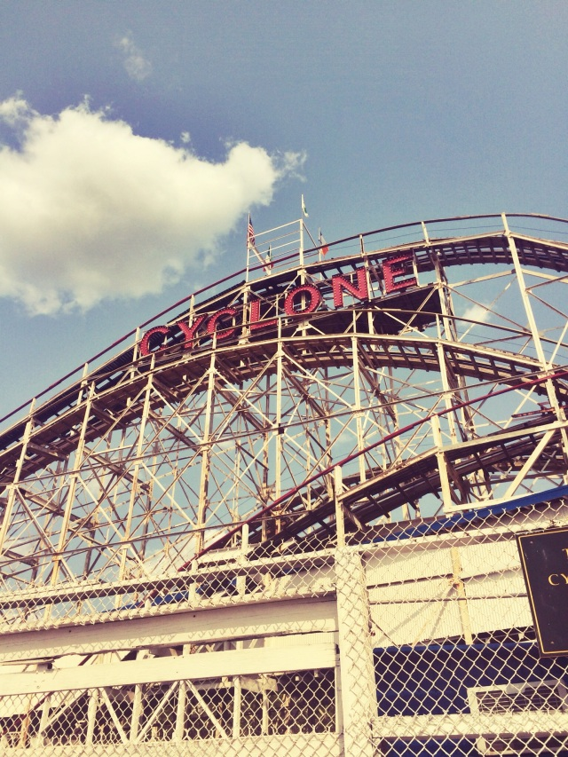 travel, new york, coney island, brooklyn, cyclone